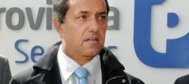 Daniel Scioli, gobernador de la provincia de Buenos Aires