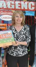 Olga Cuenca, titular de la agencia 2016, de Trelew