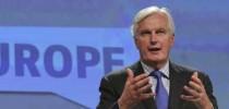 vicepresidente de la Comisión Europea y responsable de Mercado Interior y Servicios, Michel Barnier