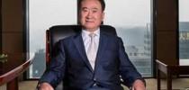 El magnate chino Wang Jianlin.
