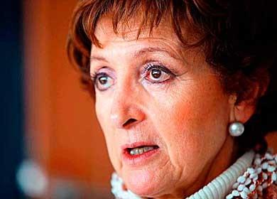 Marcela González Salas, titular de la Dirección General de Juegos y Sorteos (DGJS)