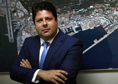 Fabian Picardo, ministro principal de la colonia británica