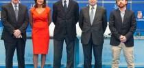 Eduardo Morales, María José Gallardo, Fernando Prats (moderador), José González y Sacha Michaud